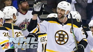 NHL Stanley Cup Playoffs 2019: Bruins vs. Blue Jackets   Game 6 Highlights   NBC Sports