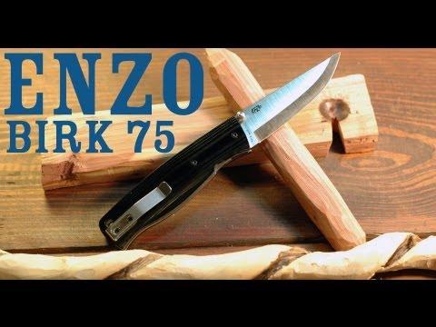 Bushcraft Folder: Enzo Birk 75