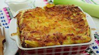 Вкусная картофельная запеканка с мясом