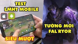 Update LMHT: LOL Mobile lộ cảnh test thao tác tay 5 phút, Tướng Fal'Ryor – Kẻ Ngoại Đạo Hư Không