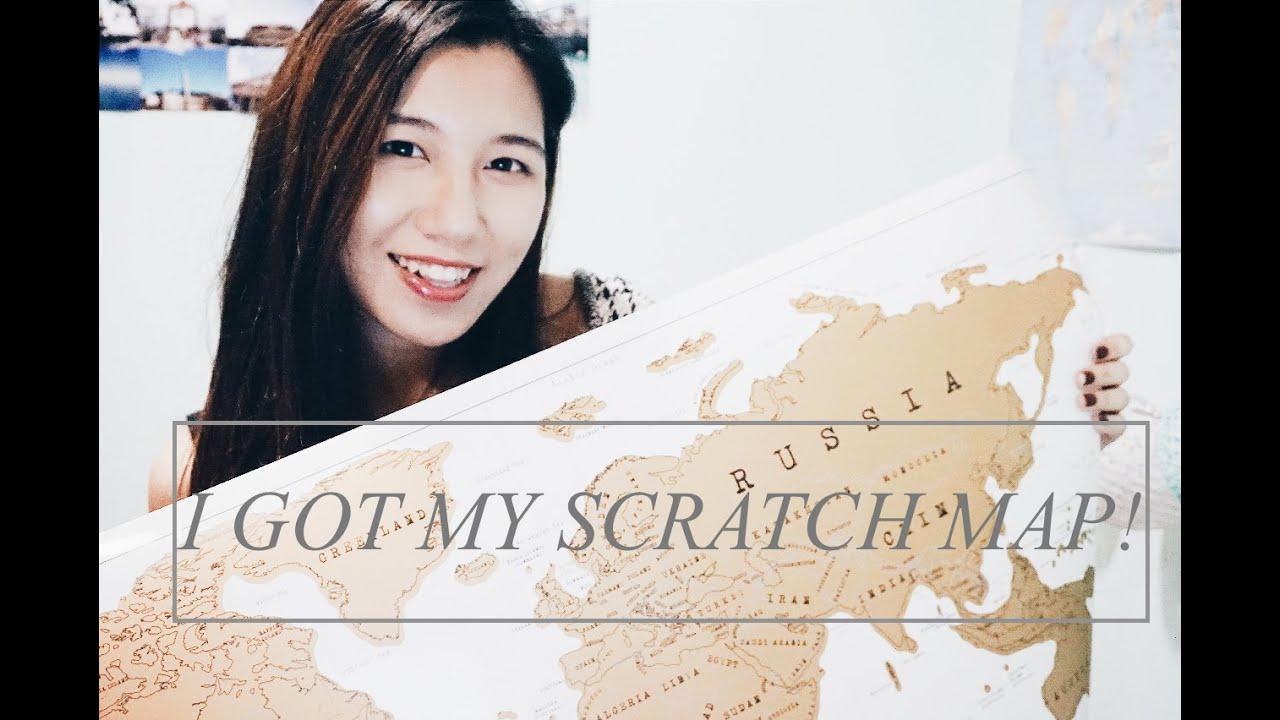 ?我的刮刮地圖|I Got My Scratch Map!!! - YouTube