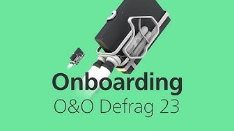 Getting started with O&O Defrag 23