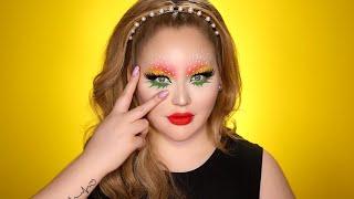 strawberry eye-makeup snapchat filter inspired tutorial