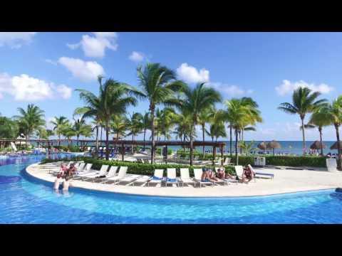 🏝[4K UHD]Bluebay Grand Esmeralda-Caribbean Beach | Playa Del Carmen | Mexico