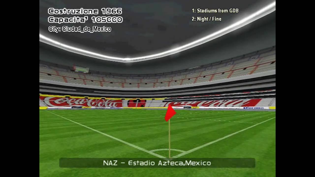 International Stadiums In Pes 6 Hd 720p Youtube