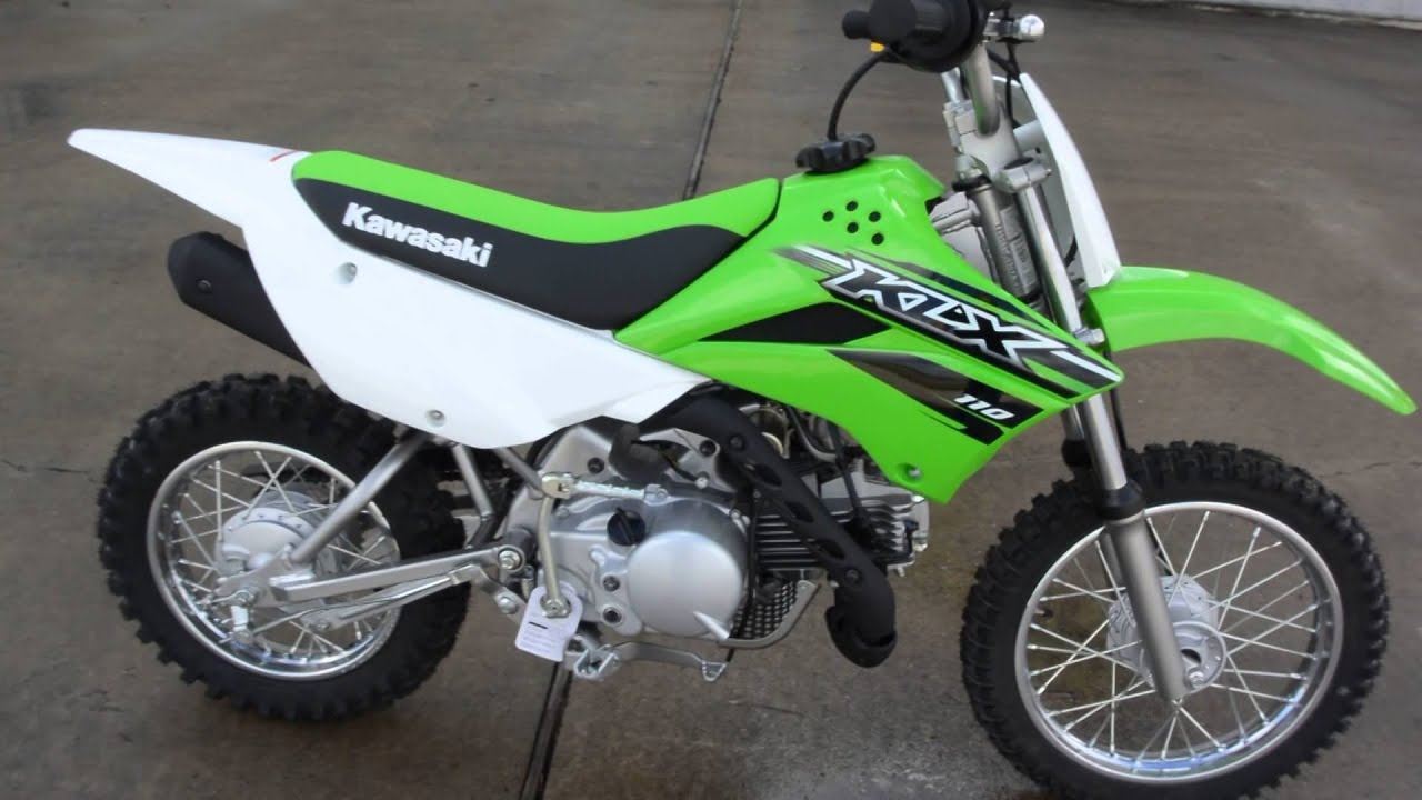 SALE $1,999: BRAND NEW 2015 Kawasaki KLX110 Overview and Review ...
