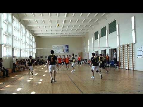 Nishny game 2012 Volleyball male groupstage KSMU vs RSMU part 1