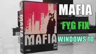 Mafia 1 PC Game Fix (Retail) - Windows 10 64Bit