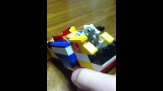 レゴ三連式ゴム鉄砲