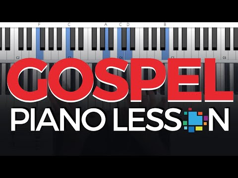 Gospel Piano Chords Tutorial Frdric Chopin Youtube