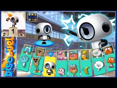 The Amazing World of Gumball: Disc Duel   Full Game   Master  Robot   Cartoon Network