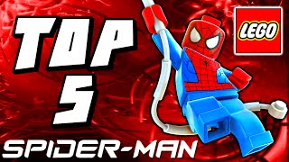 Top 5 LEGO Spider-Man Sets Countdown