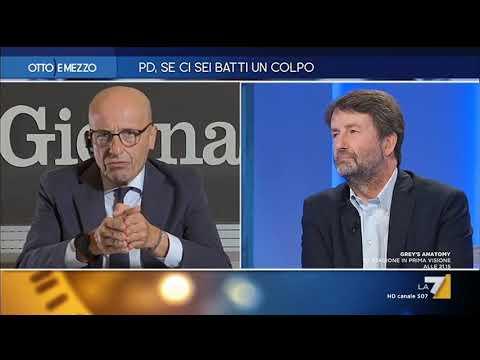"""Alessandro Sallusti: """"Insegnare a Franceschini a far politica è come insegnare ai gatti ad ..."""