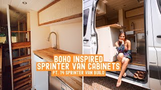 From VAN to TINYHOME | BOHO CANED/RATTAN CABINETS » Sprinter Van Build