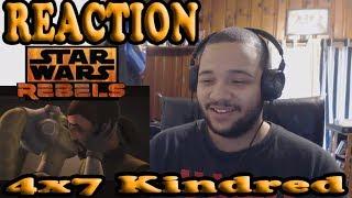 Star Wars Rebels Season 4 Episode 7 REACTION!!! - Kindred