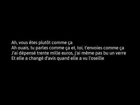 PAROLE Maître Gims - Appelez La Police ft. MHD Official Lyrics