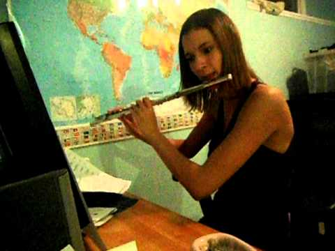Jingle Bells on the Flute