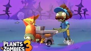 Plants vs. Zombies 3 - Gameplay Walkthrough Part 29 - Hot Dog Vendor (Fast Food Zombie) (Floor 27)
