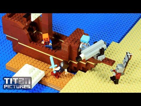 Lego Minecraft - Clan Wars | Villager Vs Pillager | Episode 4 - Foolish Mistake