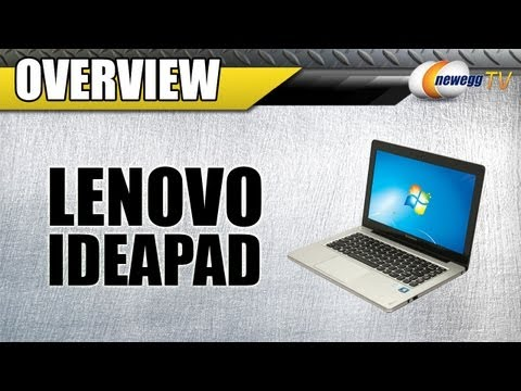 newegg-tv:-lenovo-ideapad-u310-series-ultrabook-overview