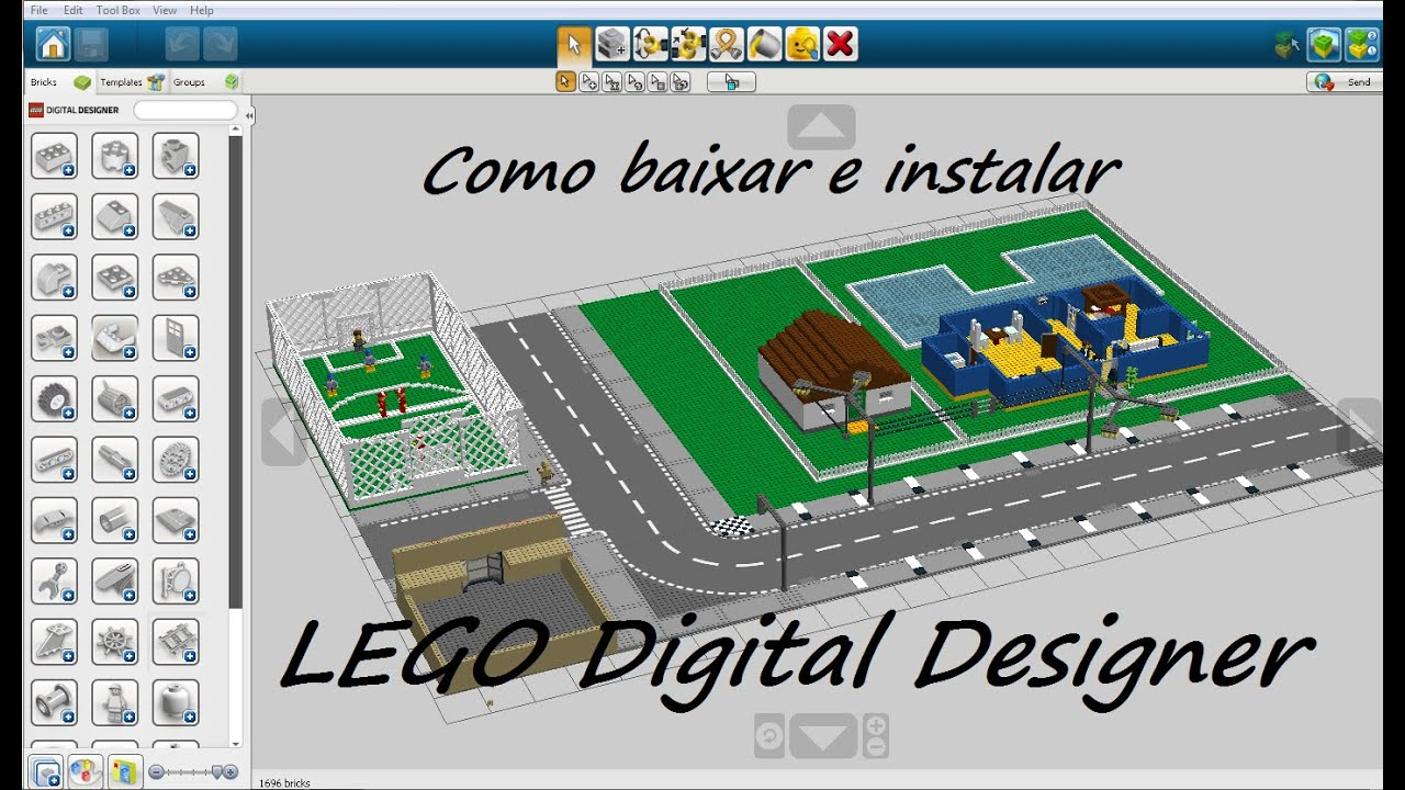 Como baixar e instalar lego digital designer youtube como baixar e instalar lego digital designer pronofoot35fo Images