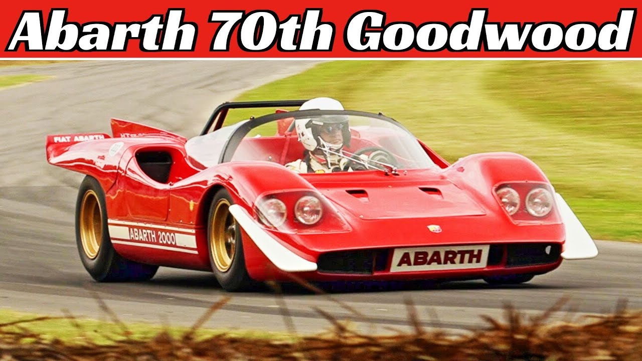 Abarth 70th Anniversary - Sport Prototypes Highlights - Goodwood Festival of Speed (FOS)