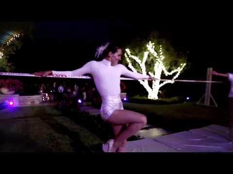 Slack Line Performance for an Epic Wedding
