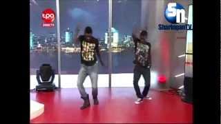 Os Pilukas a dançarem Kwaito no Hora Quente - Babilson Pro 2012