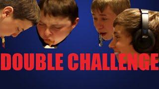 WHISPER CHALLENGE & CHUBBY BUNNY CHALLENGE! (VOMIT WARNING!)