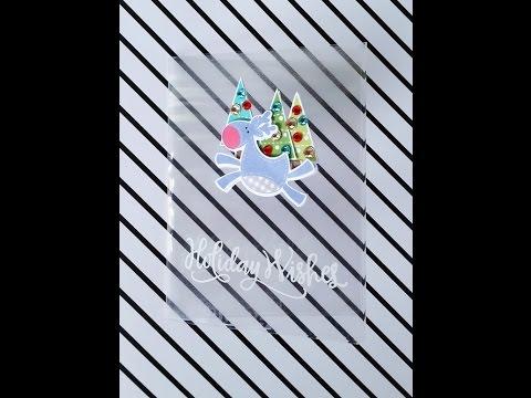 DIY Clear Cards / Laminating with the Heidi Swapp Mini Minc