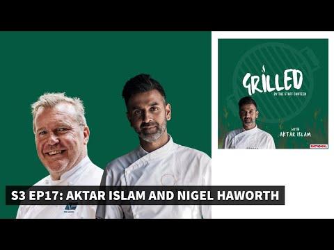 Michelin-starred chefs Aktar Islam & Nigel Haworth Grilled by The Staff Canteen