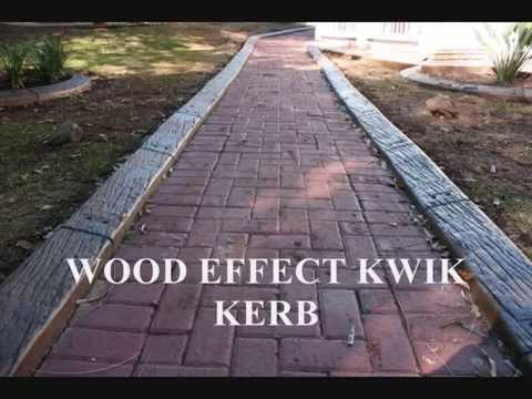 Kwik kerb continuous concrete edging 2013 youtube for Quik curb
