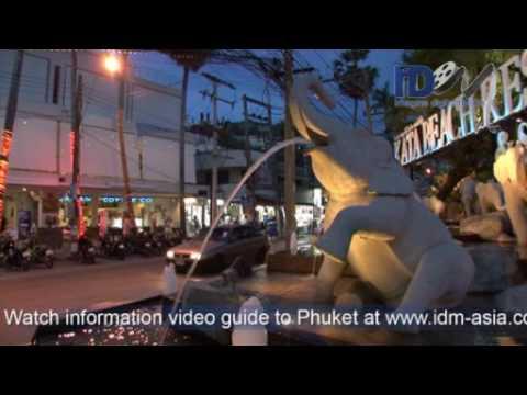 Phuket  Kata and Karon beach south west of Phuket Island tourist information guide