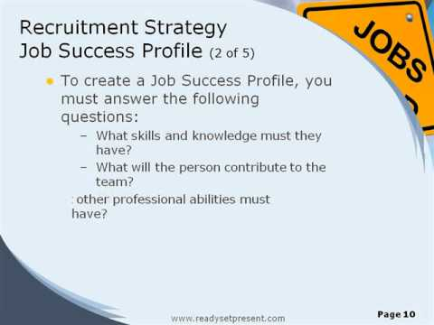 Recruitment And Selection PowerPoint Content YouTube