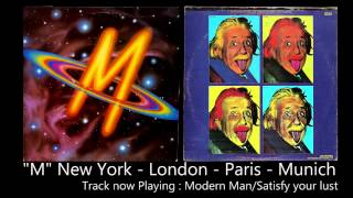 M - New York London  Paris  Munich. Full original vinyl album [HQ Audio]