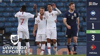 Escocia 1 - 3 Portugal - RESUMEN Y GOLES – Amistoso