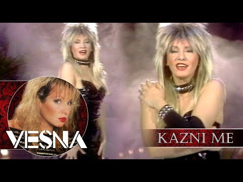 Vesna Zmijanac - Kazni me, kazni - (Official Video 1989)