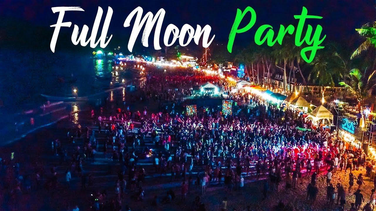 Full Moon Party Koh Phangan Youtube