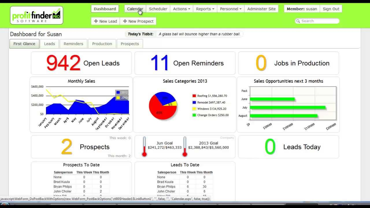 Lead, Sales and Marketing Tracking Software - YouTube