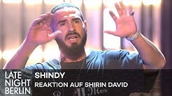 Shindy reagiert auf Shirin Davids Instagram-Diss | Late Night Berlin | ProSieben