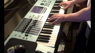 Playing Classic 80s Hits on a Yamaha Motif XS Synth