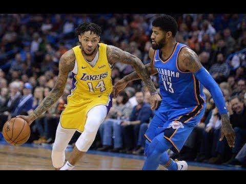 LA Lakers vs Oklahoma City Thunder 1st Quarter Game Highlights I January 17, 2019