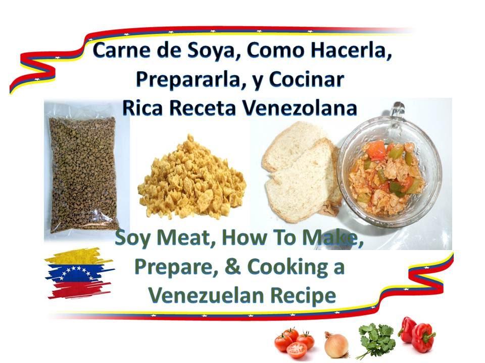 How to make prepared cook soy meat tasty recipe como for Como cocinar alubias de bote