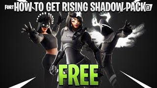 HOW TO GET THE NEW FORTNITE RISING SHADOW PACK FREE! NEW FORTNITE LEGENDS PACK
