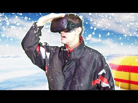 IMPOSSIBLE SURVIVE ON THE BROKEN ICE LAKE CHALLENGE IN VR! - Iced VR HTC VIVE Gameplay |