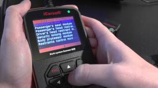 Jaguar XK Type Diagnostic Tool iCarsoft i930 Presentation