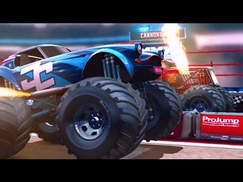 Mobile iOS - MMX Racing! JOHN CENAAAAA - Monster Truck Racing!