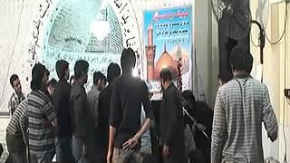 Allama Zamer Akhtar Naqvi  19 moharam    Imam Bargah Aakhr ul zaman Joher 2016
