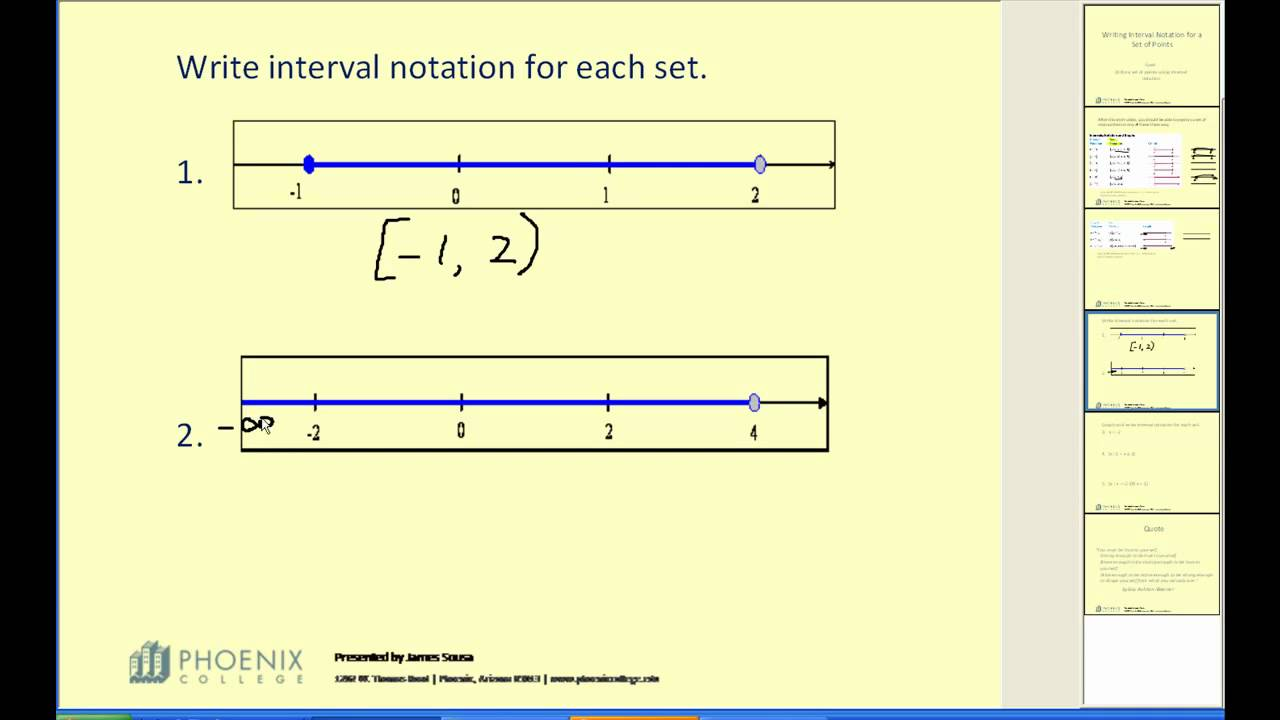 Use Notations To Specify Domain And Range College Algebra