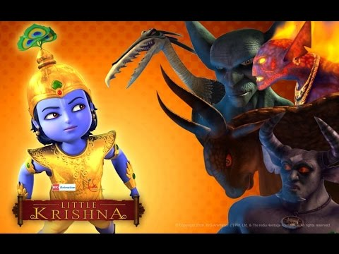 Thumbnail: Little Krishna Tamil - Episode 11 The Mystery Of The Vanishing Sheep